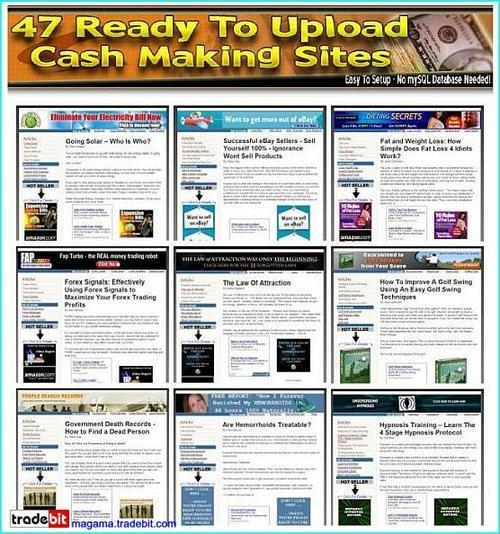 Product picture 47 Ready Made Clickbank Websites Mrr