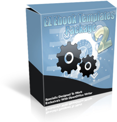 Product picture Ebook Templates And The Graphics, Step-By-Simple-Step
