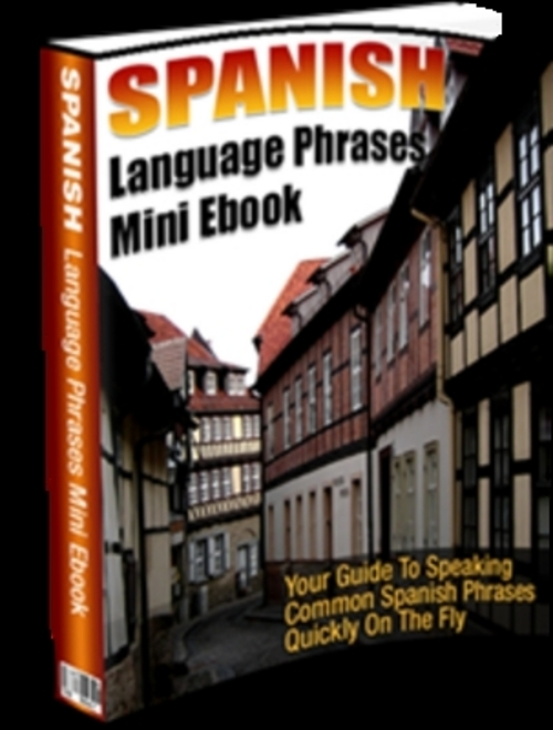 Product picture Spanish Language Mini Ebook