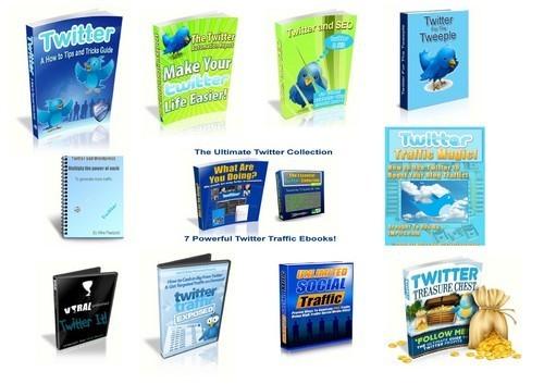 Product picture  Twitter Plr Info Bundle Free Bonus
