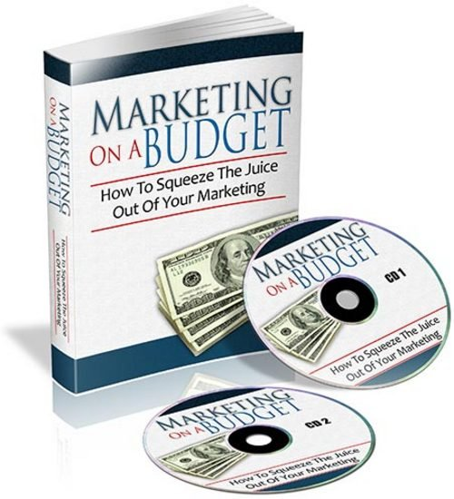 Product picture Marketing On A Budget WIth PLR Rights
